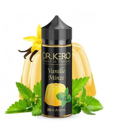 Dr. Kero Vanille Minze Aroma 20 ml in 120 ml Flasche Shake and Vape