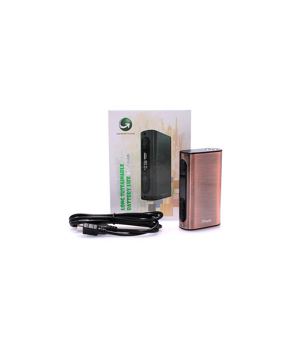 Eleaf iPower 5000mA 80W TC Mod Akkuträger in silber