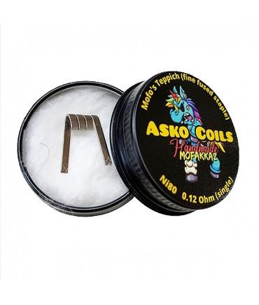 ASKO COILS Mofo's Teppich! (fine fused staple) single coil - Hand Made