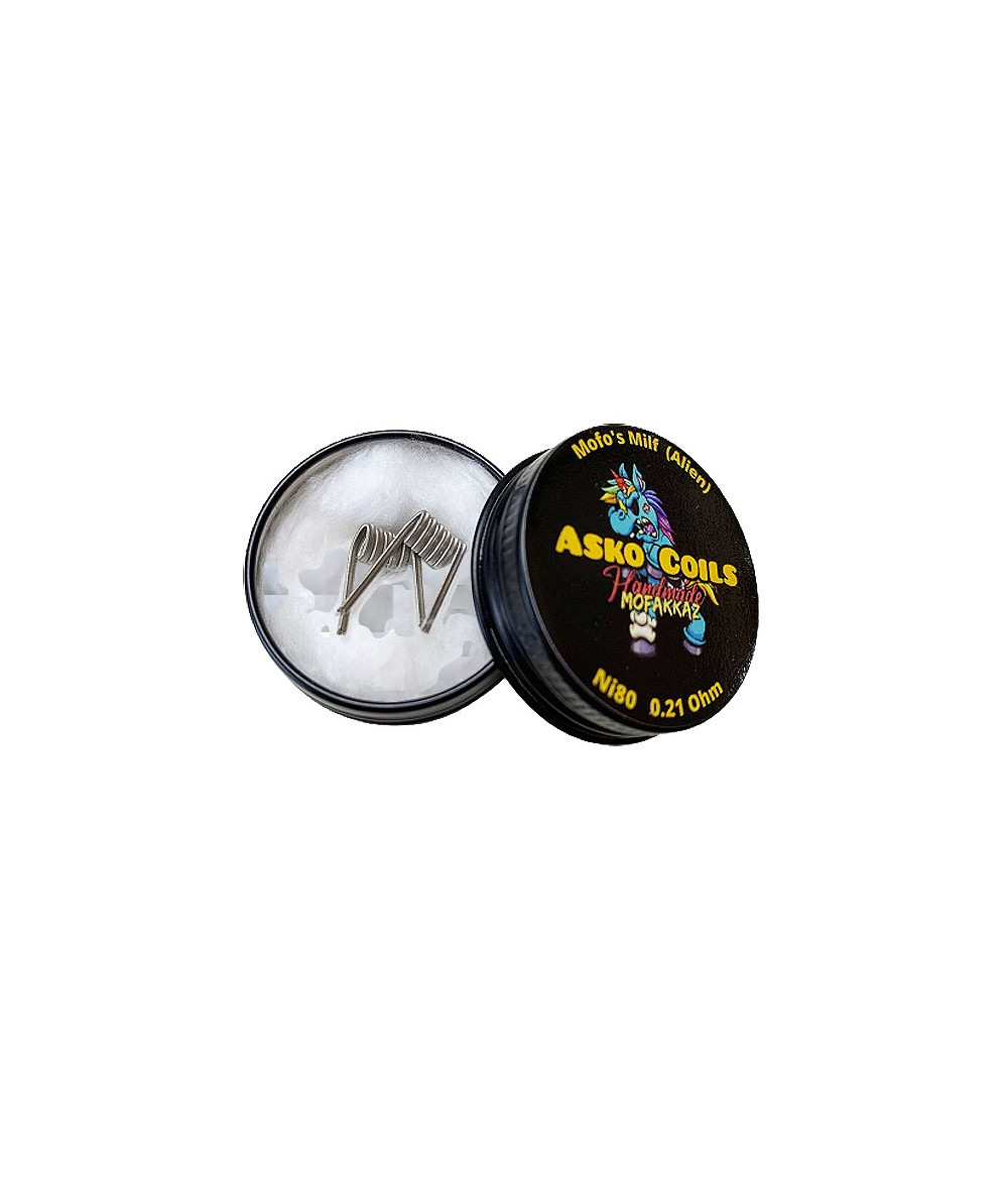 ASKO COILS Mofo's Milf 3 Kern Alien - 2 Coils - Hand Made