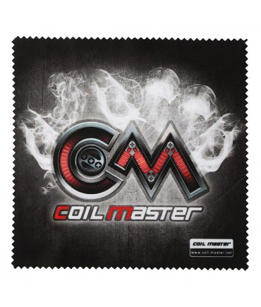 COIL MASTER microfiber cloth / polishing cloth for battery carriers and evaporators