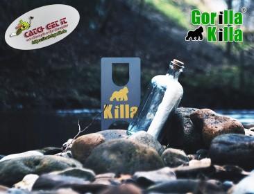 Gorilla Killa 2.0 Öffner blau gold für Chubby Gorilla Flaschen Version 2 und 3