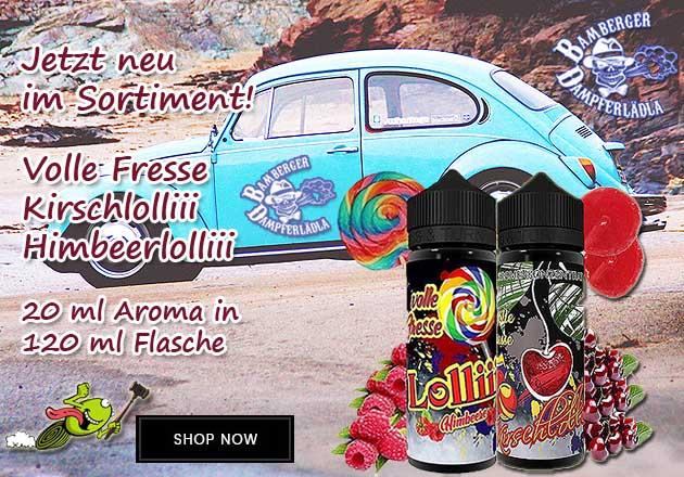 Laedla Juice - Volle Fresse Kirschlolliii und Himbeerlolliii